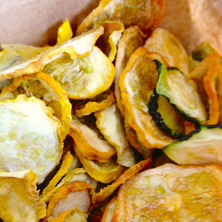 Easy Homemade Squash Chips