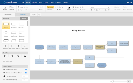 smartdraw diagrams g suite marketplace - Smartdraw Support