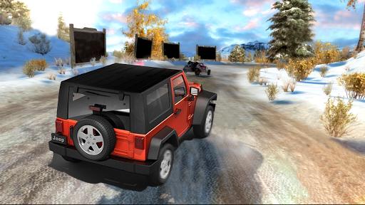 4x4 hors route se SUV 4x4 se rallier conduite  captures d'écran 2