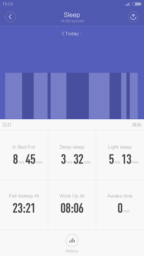 Mi Fit – Screenshot