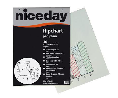 Blädderblock Niceday 40bl 5/fp