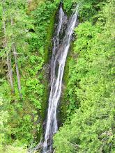 Photo: 120' waterfall at Falls Views campground.