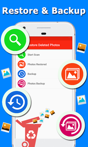 Restore Deleted Photos - Picture Recovery & Backup screenshots 1
