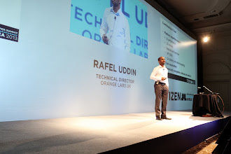 "Photo: ""Our Tizen Journey with HTML5"" - Rafel Uddin, Orange"