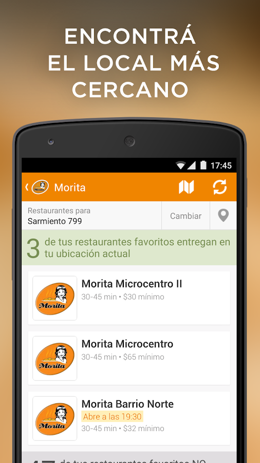 Morita android apps on google play for Gym mas cercano