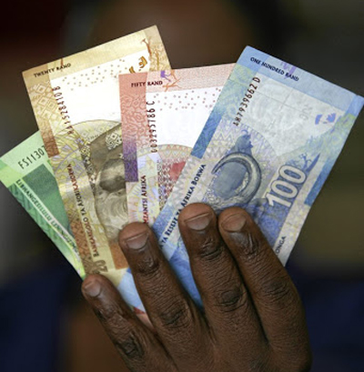 Not using a bank account means the stokvel members lose out on interest. Picture: ANTONIO MUCHAVE