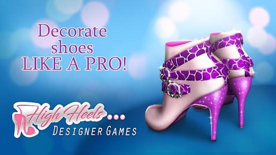 High Heels Designer Games Screenshot Thumbnail