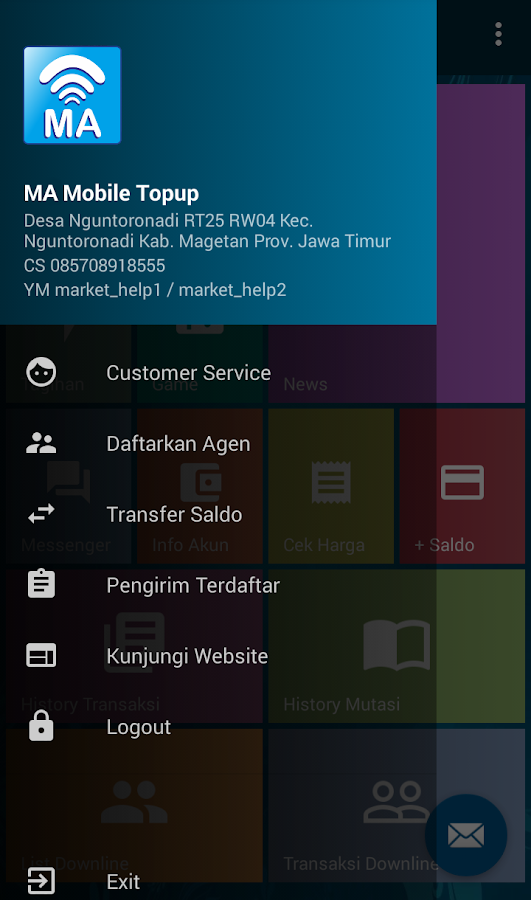 MA Mobile Topup- screenshot
