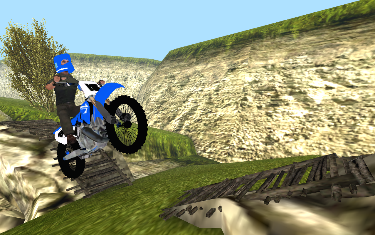 Offroad Bike Racing 3D- screenshot