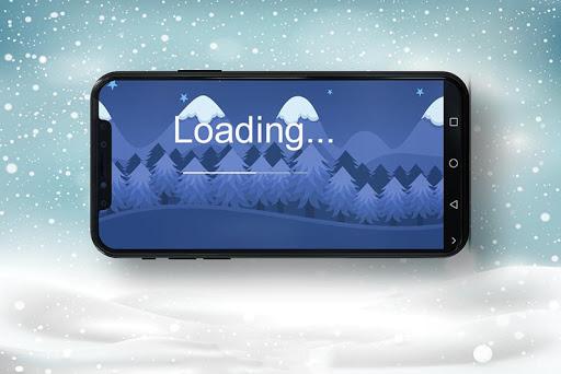 Code Triche New Sunta Run Christmas 2019 APK MOD (Astuce) screenshots 1