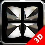 Next Launcher Theme Black D Icon