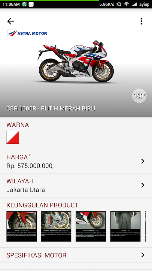 Astra Motor Catalogue- screenshot