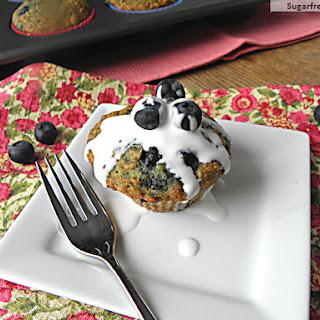 Blueberry Oatmeal Muffins {Gluten & Sugar Free}