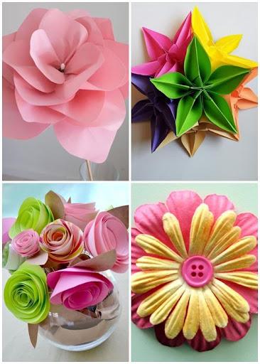 DIY纸花设计