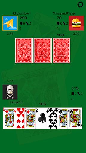 Thousand (1000) - card game 1.7.0 screenshots 1
