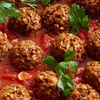 Lentil-Mushroom Meatballs.