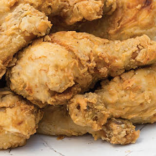 Cajun-Brined Fried Chicken.