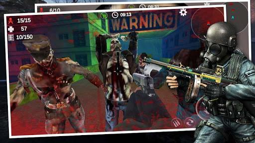 Zombie 3D Gun Shooter- Real Survival Warfare 1.1.8 screenshots 13