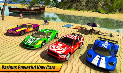 Floating Water Surfer Car Driving – Beach Racing 5