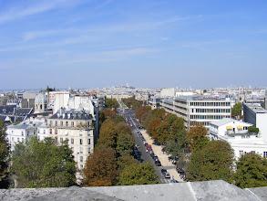 Photo: Here is the view down L'Avenue de la Observatoire, with Montmartre in the distance.