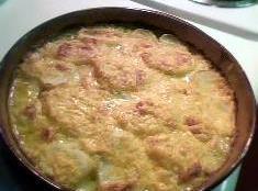 Cheesy Au Gratin Potatos Recipe