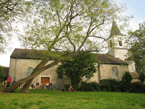 Photo: église Saint Christophe à Chateaufort