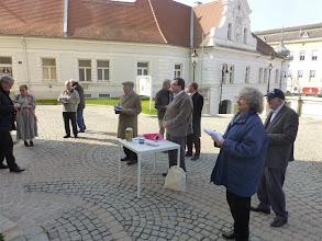 Photo: Der Arbeitskreis Weltkirche im Einsatz