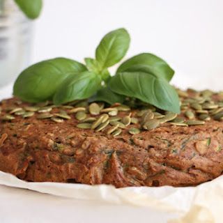 Savoury Courgette and Buckwheat Cake Recipe