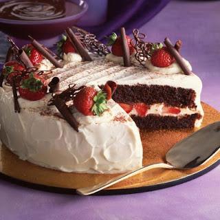 Italian Chocolate Cake.