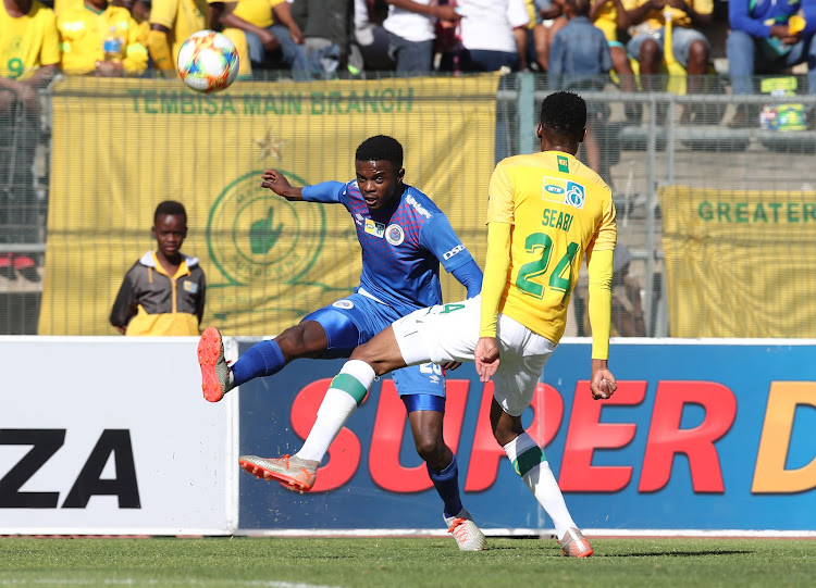 Sammy Seabi has shown signs that he can nail down a regular place in the star-studded Mamelodi Sundowns team.