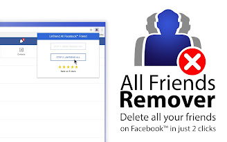 All Friends Remover for Facebook™