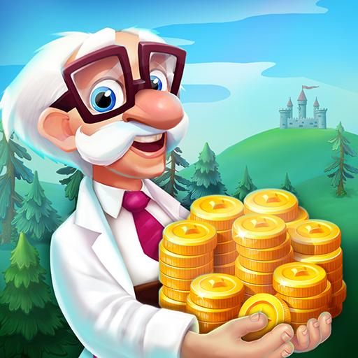 Gire slots, ganhe o jackpot, ataque ilhas e saqueie tesouros para ganhar moedas