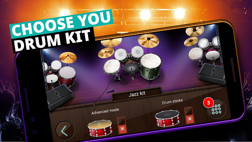Drum Set Music Games & Drums Kit Simulator screenshot 4