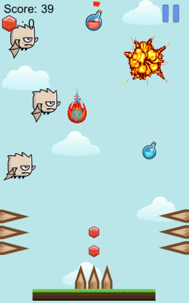 Falling Animals- screenshot
