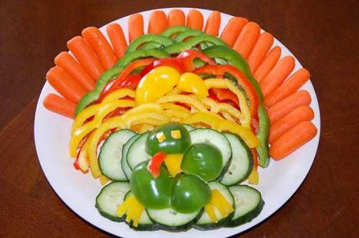 食品飾りデザインのアイデア