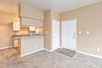 Go to A3 - One Bed, One Bath Floorplan page.