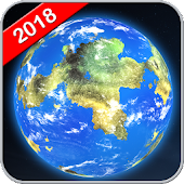 Earth Map Live GPS: Street View Navigation Transit