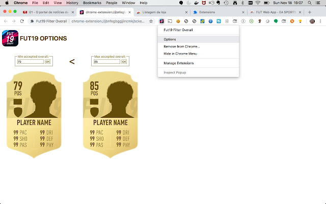 +Fut19 Filter Overall