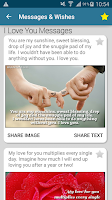 Screenshot of Messages Wishes SMS Collection