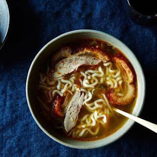 Kaoya Luobo Tang (Roast Duck Soup with Radishes).