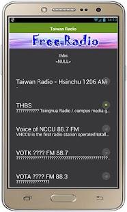 Tchajwanský rozhlas - náhled