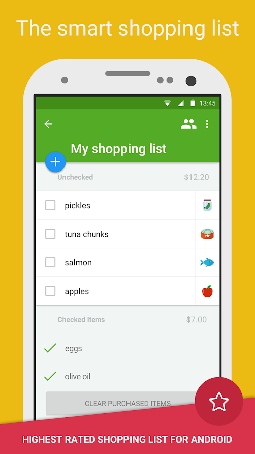 Smart Shopping List - Listonic- screenshot