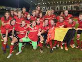 Belgian Red Flames n'étaient pas déçues après la défaite 0-2 face à l'Angleterre