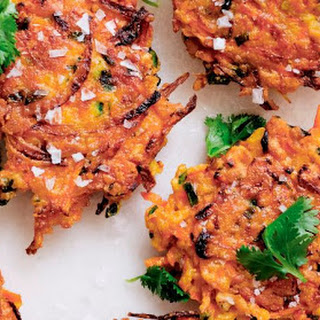 Carrot Fritters.
