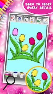 Flowers Coloring Book - náhled