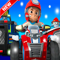 Paw Dog Racing Cars APK