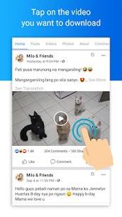 Video downloader for Facebook App Download For Android 4