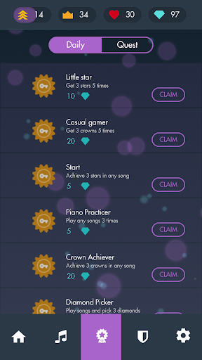 Magic Classical Christmas Piano Game White Tiles 4 1.5.4 screenshots 7