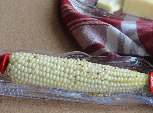 Roasted Corn With Garlic And Olive Oil Recipe