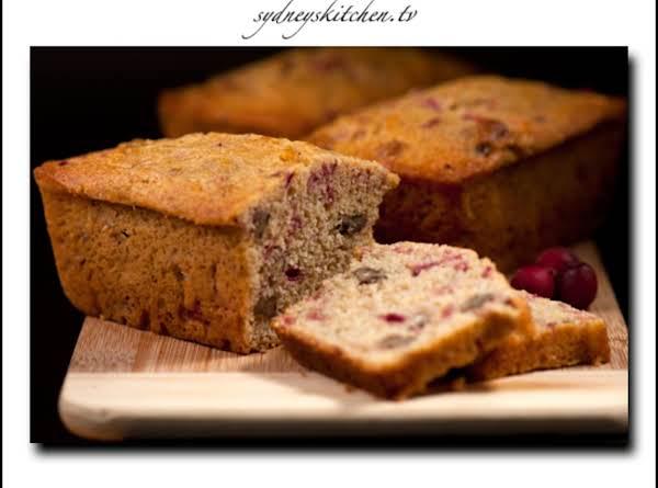Norma's Cherry Eggnog Quick Bread Recipe